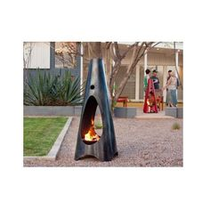 The wood-burning Urbanfire was our original product. Designed to provide an outdoor design element that matched our 50s Phoenix ranch house and perfectly roasted marshmallows. The design appeal has ex                                                                                                                                                                                 More
