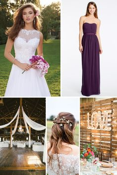 Are you a bride that is planning the ultimate rustic wedding? Take a look at our top picks! #camillelavie