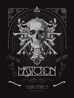 #mastodon #blacktusk #bandart