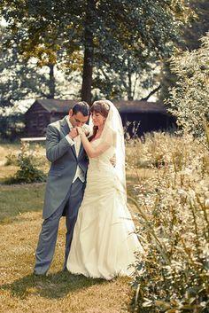 Wedding, romantic, hand kiss Kingfisher Country Club, Milton Keynes Just Shoot Me Photography www.Just-Shoot-Me.co.uk