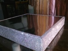 Got a wedding coming up make sure your cake stand dazzles :D 14 Dazzling Cake Stand BlingItOnCakeStands, $65.00 #tbec