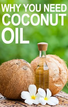 Various Uses of Coconut Oil