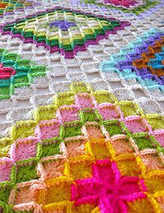 Rugs oriental: crochet tutorial, free crochet patterns