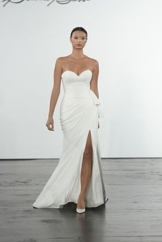 4 Ways Bridal Designers are Redefining Sexy Wedding Dress Trends, Perfect Wedding Dress, Bridal Wedding Dresses, Bridal Style, Wedding Bells, Dream Wedding, Wedding Ideas, Wedding Images, Budget Wedding