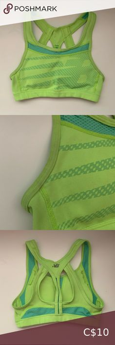 New Balance Sports Bra Medium Support A bit of discolouration (seen in pictures) Logo pealing Bundle with any sports bra for 10% off New Balance Intimates & Sleepwear Sports Bras Michael Kors Ring, Green Sports Bras, New Balance Pink, Nike Pro Spandex, Pink Cheetah, Picture Logo, Ripped Skinny Jeans, Sports Bra Sizing, Tight Leggings
