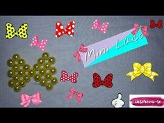 NM Bijoux - Laço Rosa - passo a passo - YouTube