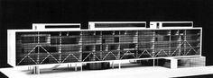 Giuseppe Terragni, Luigi Figini, Gino Pollini, and Pietro Lingeri, New Seat of the Academy of the Brera, Milan, Italy, 1935-1936