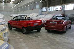 OG | Seat Ibiza Cabriolet & Cordoba Cabriolet | Full-size styling mock-up