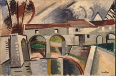 Herbin Auguste - Mill on the Marn in Creteil