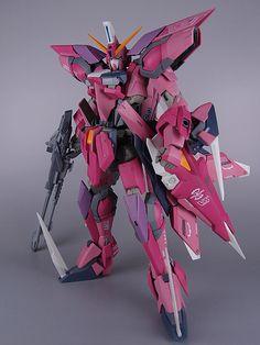 MG 1/100 GAT-X303 Aegis Gundam: Painted build.