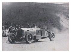 Targa Florio 1929 , Alfa Romeo 6C 1750 SS #30 , Driver Achile Varzi