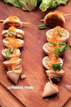 Stuffed Squids at #LaPlancha