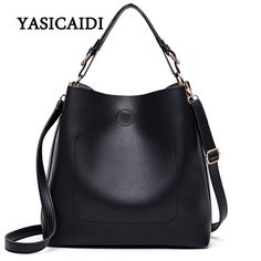 39aeff8c1ea3 New Large Capacity Women Bag Fashion Pu Leather Shoulder Bag Casual Tote  Bag Designer Female Bucket Handbags Composite Bag. Crossbody BagsSatchel ...