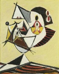 Arshile Gorky (aka Vostanik Manuk Adoyan, Armenian-American, 1904~1948) | Abstract Expressionism
