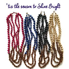Shine bright with the  31 Bits Holiday Collecton