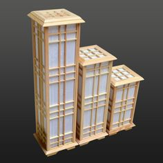 Wooden japanese lantern google search projects to try - Lamparas estilo japones ...