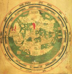 Mappa mundi of Andreas Walsperger