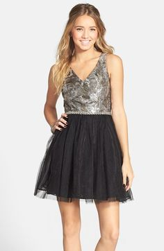 a. drea Sequin Bodice Tutu Dress (Juniors) available at #Nordstrom