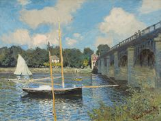 Claude Monet - The Bridge at Argenteuil [1874]