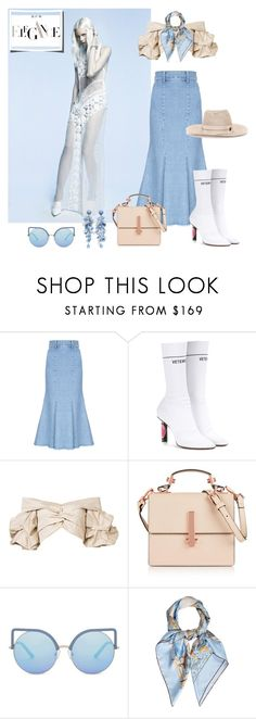 """""""Difficult roads often lead to beautiful destinations"""" by curlysuebabydoll ❤ liked on Polyvore featuring FLOW the Label, Vetements, Johanna Ortiz, Kendall + Kylie, Matthew Williamson, Hermès, H&M and Maison Michel"""