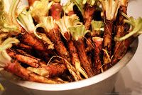 Cuisiner les racines d'onagre