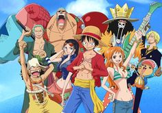 Strawhat Pirates (after the 2 year timeskip)