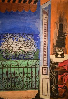 Raoul Dufy - The Window at Nice, 1923 at New Orleans Museum of Art - New Orleans LA New Orleans Museums, Raoul Dufy, S Pic, New Art, Art Museum, Interior And Exterior, Sketches, Duffy, Paintings