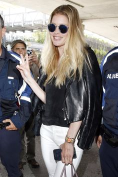 Pin for Later: Cheryl Arrives in Cannes for the Film Festival Doutzen Kroes