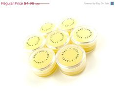 60 OFF EVERYTHING SALE Lemon Beeswax Lip by MadisonStreetBeauty, $2.00