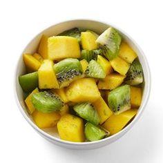 Mango & Kiwi with Fresh Lime Zest - EatingWell.com