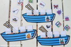 French rhyme time - FREE French rhyming game - Les mots dans un bateau French Teaching Resources, Teaching French, Teaching Kids, Teaching Reading, Rhyming Activities, Literacy Games, Activities For Kids, Kindergarten Tables, Kindergarten Literacy