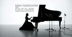 Maki Namekawa plays Philip Glass Piano Etude No 9 & No 20 HD. Philip Glass drove a tax in New York city until he was 42, and began making any money off of his music. This is the same artist that has had such an impactful influence on American cultural that he is found in everything from South Park to America's greatest concert halls.