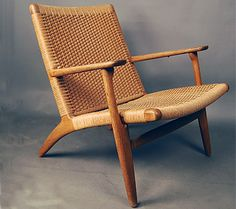 1949_ chair 'ch25' BY hans wegner