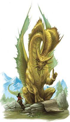 Dragon Instructor by Eva Widermann