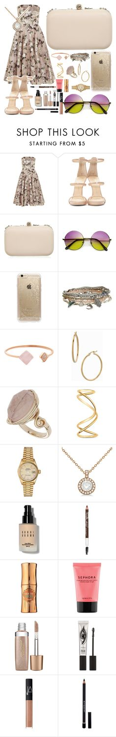 """""""Squaresville I tell ya!"""" by sophiewb ❤ liked on Polyvore featuring Alexander McQueen, Giuseppe Zanotti, Miss Selfridge, Rifle Paper Co, Aéropostale, Michael Kors, Bony Levy, Topshop, Maison Margiela and Rolex"""