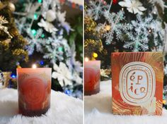 Diptyque Épice Candle for Christmas Pillar Candles, Christmas, Blog, Xmas, Weihnachten, Navidad, Blogging, Yule, Noel