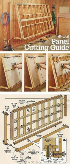 Vertical Panel Saw Plans - Circular Saw Tips, Jigs and Fixtures | WoodArchivist.com