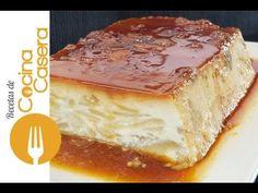 Pudín o budín de manzana | Recetas de Cocina Casera - Recetas fáciles y sencillas