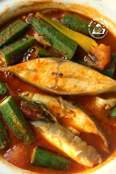 After cooked few types of assam fish, example this assam fish using homemade assam paste , or Indian fish curry , my family currently pre. Spicy Dishes, Fish Dishes, Seafood Dishes, Seafood Recipes, Malaysian Cuisine, Malaysian Food, Malaysian Recipes, Nasi Lemak, Asian Fish Recipes