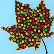 Dotpainting Herbstblätter Art Ideas, Google Search, Fall Leaves, Autumn Leaves, Watercolors, Dots, Projects, Printing, School