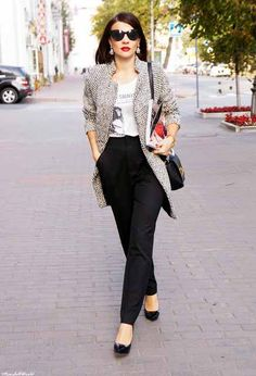 Chic Office Outfit Idea