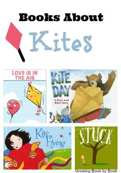 Books for kids: kite flying books compiled by growingbookbybook. Spring Activities, Literacy Activities, Bubble Activities, Preschool Books, Preschool Lessons, Preschool Ideas, Preschool Crafts, Kites For Kids, Preschool Weather