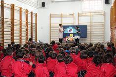 Cuentacuentos para Educación Primaria en Colegio Calasanz 19/12/2014