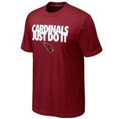 Nike Arizona Cardinals Just Do It T-Shirt - Cardinal -, http://www.amazon.com/dp/B00GOEWR3O/ref=cm_sw_r_pi_awdm_KtYWsb1RF6P7Z