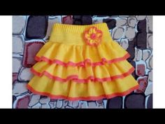 Crochet Skirt Pattern, Lace Knitting Patterns, Knit Skirt, Dress Patterns, Knit Crochet, Knit Baby Dress, Crochet Baby Clothes, Crochet Designs, Knitting Designs