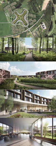 [Underconstruction] New North Zealand Hospital - Hillerød, Denmark /