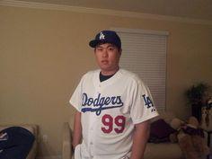 Hyun-Jin Ryu in Dodger Blue
