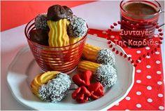 ΣΥΝΤΑΓΕΣ ΤΗΣ ΚΑΡΔΙΑΣ: Πτι φουρ Greek Sweets, Greek Desserts, Greek Recipes, Cypriot Food, Recipe Link, Group Meals, Sugar And Spice, Different Recipes, Deserts