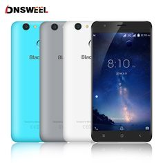 Blackview E7S  smartphone MT6580 Quad Core Android 6.0 Mobile Phone 5.5inch IPS HD 2GB+16GB 8MP GPS 3G cell phone Fingerprint ID