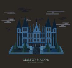 Top 9 des lieux de Harry Potter illustrés (et animés parce que c'est encore plus beau)